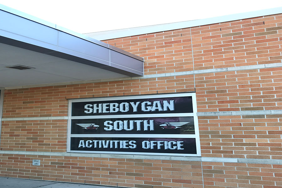 Sheboygan+South%27s+Activities+Offices+is+home+to+Athletic+Director+Chris+Hein.+He+is+leading+the+way+looking+for+new+coaches+to+lead+the+Redwings.