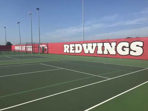A new year brings many new improvements including the windscreens added to the tennis courts over the summer.
