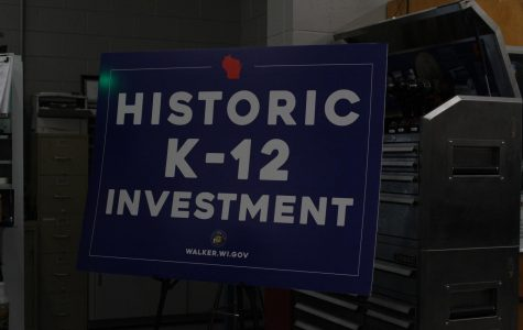 Governor Scott Walker visits Sheboygan South to Kick off Historic K-12 Investment