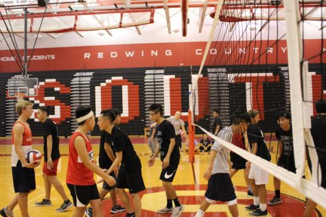 South Men's Volleyball?