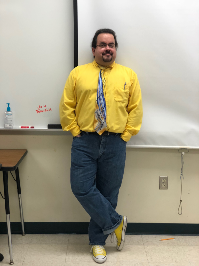 Mr. Kroll actively takes part in the converse trend. Rumor has it he was born wearing Chuck Taylors!