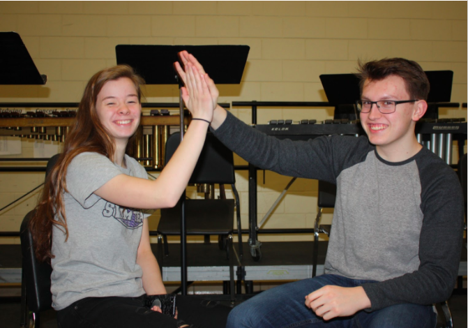 Seniors, Tessa Priebe and Trevor Braatz are currently together, but Priebe has put Braatz in the friendzone before. They show that the friendzone is not a bad place, because somehow if it is meant to be, then you will be brought together again.