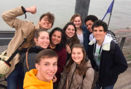 South Students Travel to France and China Over Spring Break