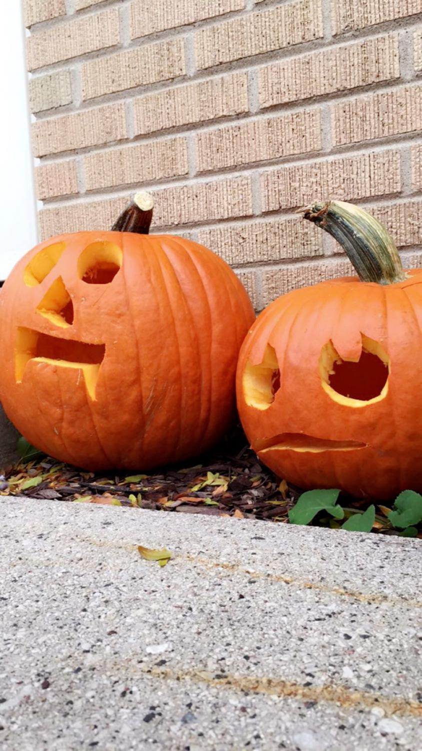 Fun fact: carving pumpkins started in Ireland. It started by carving beets, potatoes, etc.