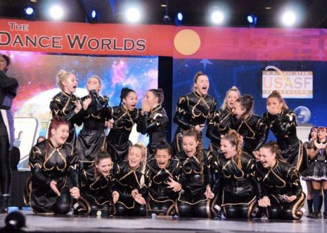 This picture captures the moment the team had been crowned World Champions. They say a picture is worth a thousand words and this picture proves just that.